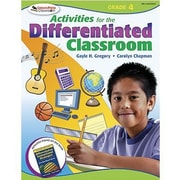 Corwin Activities For The Differentiated Classroom Resource Book, Grades 4th