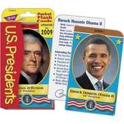 Trend Enterprises Flash Cards, U.S. Presidents Pocket, 336/Pack (T-23013)