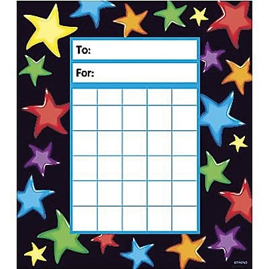 Trend Enterprises® Incentive Pads, Gel Stars