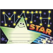 Awards, Math Star Recognition Awards, 30/Pkg by
