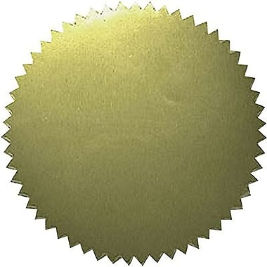 Hayes® Gold Stickers, Blank (H-VA313)