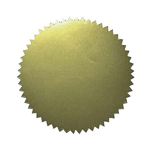 Description. Gold Embossed Sticker ...