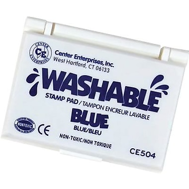 Center Enterprises® Washable Stamp Pad, Blue