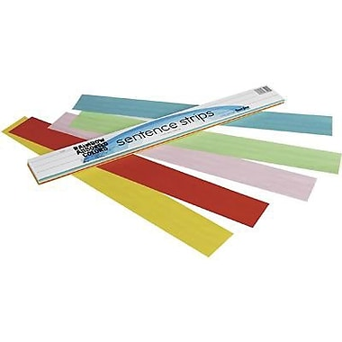 Pacon Assorted Kaleidoscope Tagboard Sentence Strip, 24