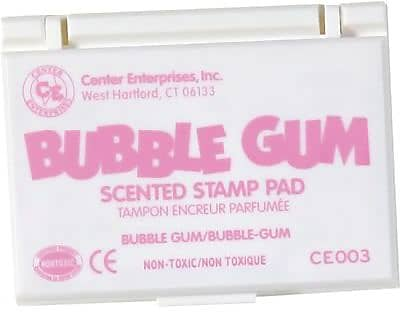 Center Enterprises® Scented Stamp Pad/Refill, Bubblegum/Pink (CE-03)