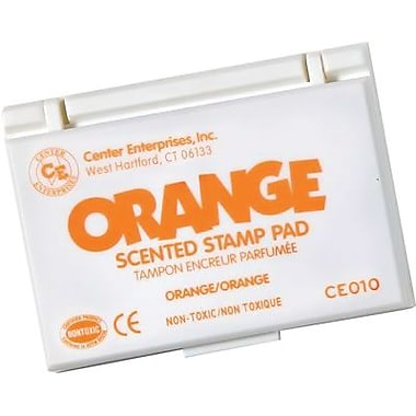 Center Enterprises® Scented Stamp Pad/refill, Orange