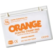 Center Enterprises® Scented Stamp Pad/Refill, Orange (CE-10)