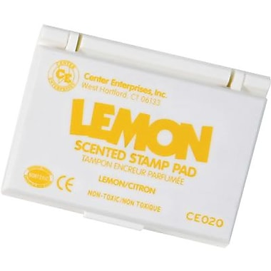 Center Enterprises – Tampon encreur parfumé/recharge, citron/jaune (CE-20)