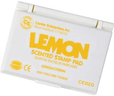 Center Enterprises® Scented Stamp Pad/Refill, Lemon/Yellow