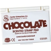 Center Enterprises® Scented Stamp Pad/Refill, Chocolate/Brown