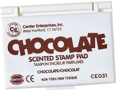 Center Enterprises® Scented Stamp Pad/Refill, Chocolate/Brown (CE-31)