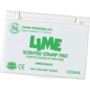 Center Enterprises® Scented Stamp Pad/Refill, Lime/Green (CE-45)