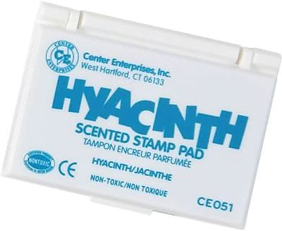 Center Enterprises® Scented Stamp Pad/Refill, Hyacinth/Turquoise (CE-51)