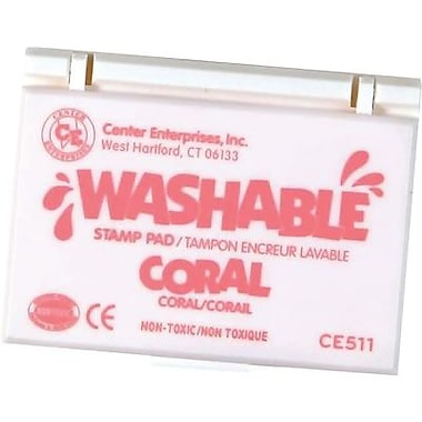 Center Enterprises Washable Stamp Pad, Coral (CE-511)