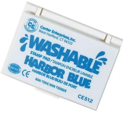 Center Enterprises® Washable Stamp Pad, Harbor Blue (CE-512)