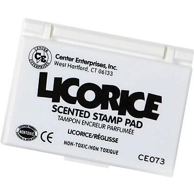 Center Enterprises® Scented Stamp Pad/Refill, Licorace/Black