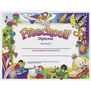 "Trend Enterprises Pre-school Diploma, 8 1/2"" X 11"", 150/Pack (T-345)"
