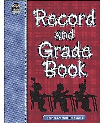 Teacher Created Resources® Record and Grade Book, Grades Pre-school - 12th (TCR3360)