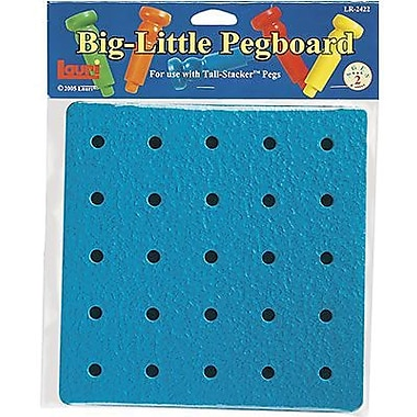 Patch Products Lauri Toys Tall Stacker Big Little Pegboard (LR-2422)