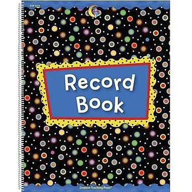 Creative Teaching Press Poppin Patterns Record Book (CTP1277)