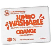 Center Enterprises® Jumbo Washable Stamp Pad, Orange