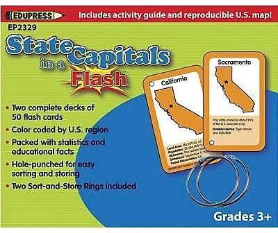 Edupress® Flash Cards, Color-Coded