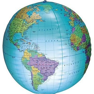Learning Resources® Inflatable Light-up Globe, Grades 1st+