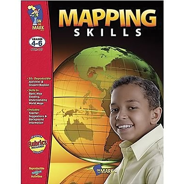 On The Mark Press Mapping Skills Book, Grade 4 - 6 (OTM107)