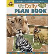 Teacher Plan Books, Evan-Moor® Bigger Daily Plan Book