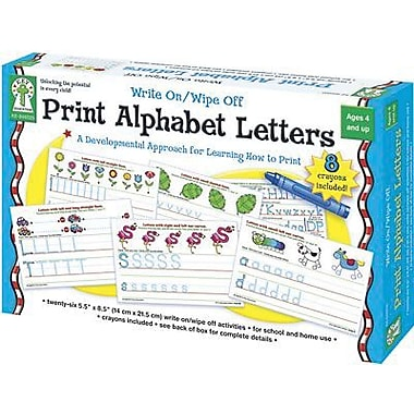 Key Education Publishing® Print Alphabet Letters Cards