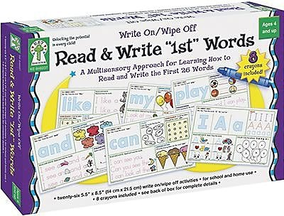 Key Education Publishing® Read and Write 1st Words Cards