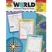 Evan-Moor® The World - Reference Maps & Forms