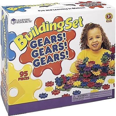 Learning Resources® Gears! Gears! Gears!® Sets, Beginners Building Set