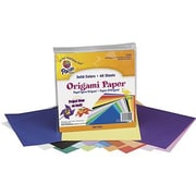 "Pacon 9"" x 9"" Origami Craft Paper, 80/Pack (PAC72200)"
