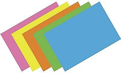 Top Notch Teacher Products® Brite Assorted Blank Index Card, 3