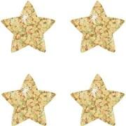 Trend Enterprises® SuperShapes Chart Seal, Gold Sparkle Star