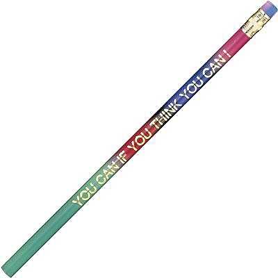 Moon Products Pencils by the Dozen, You Can If You Think You Can