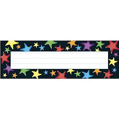 Trend Desk Toppers Kindergarten - 4th Grades Name Plate, Gel Stars, 288/Pack (T-69040)
