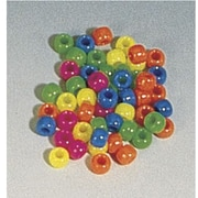 "Hygloss Neon Barrel Bucket O"" Bead, 450/Pack (HYG6832)"