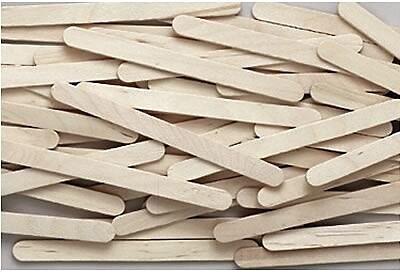 Chenille Kraft® Wooden Craft Materials, Sticks, Natural, Economy Grade