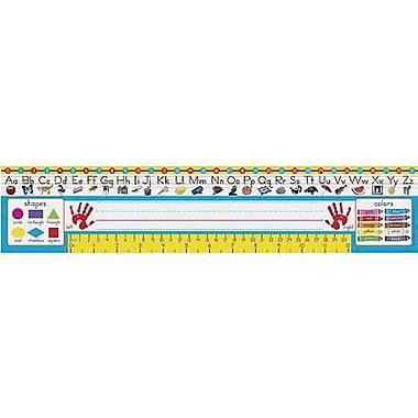 Trend Desk Toppers pre-kindergarten - 1st Grades Name Plate, Zaner-Bloser, 108/Pack (T-69401)