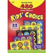 Trend Enterprises® Stinky Stickers, Kid's' Choice