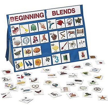 Patch Products Smethport Beginning Blends Tabletop Pocket Chart (SME774)