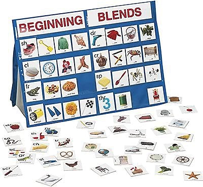 Smethport™ Specialty Tabletop Pocket Charts, Beginning Blends,
