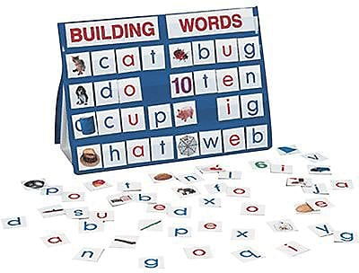 Smethport™ Specialty Tabletop Pocket Charts, Building Words