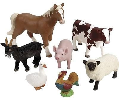Learning Resources Jumbo Farm Animals 847460
