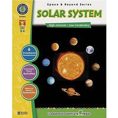 Planetary Science, Classroom Complete Solar System Book, Grades 5-8