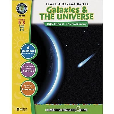Classroom Complete Press Galaxies and The Universe Book, Grade 5th - 8th (CC4513)
