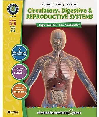 Classroom Complete Circulatory and Reproductive Systems Book
