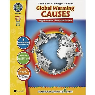 Classroom Complete Press® Global Warming Causes Book, Grades 5th - 8th
